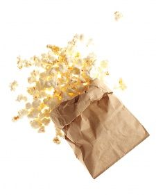Who would of thought. Popcorn made in a brown paper lunch bag. Yes it does work!