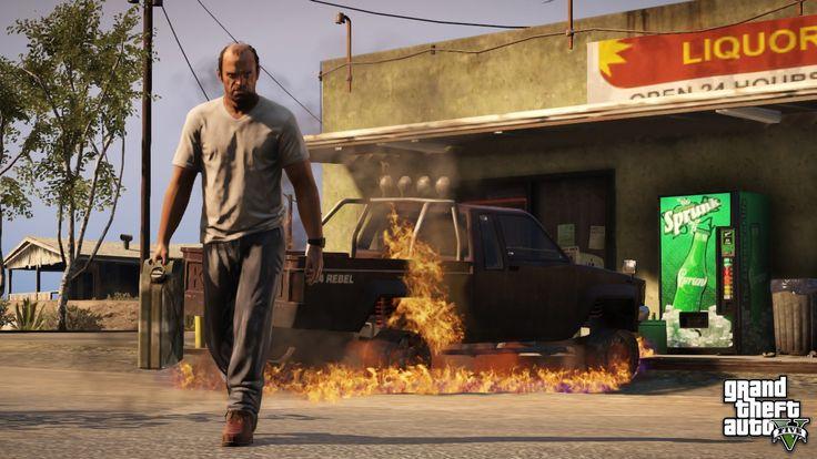 Rockstar Games anunció que el lanzamiento del más reciente juego de su saga más exitosa, Grand Theft Auto V, llegará a las consolas de última generación, l
