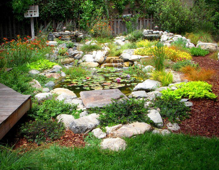 17 best images about beautiful garden la on pinterest for Water garden landscaping