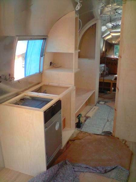 Bespoke Furniture And Fitting Examples By Spokeshave Cabinet Makers  Including Refurbishment Of A Classic Airstream Caravan