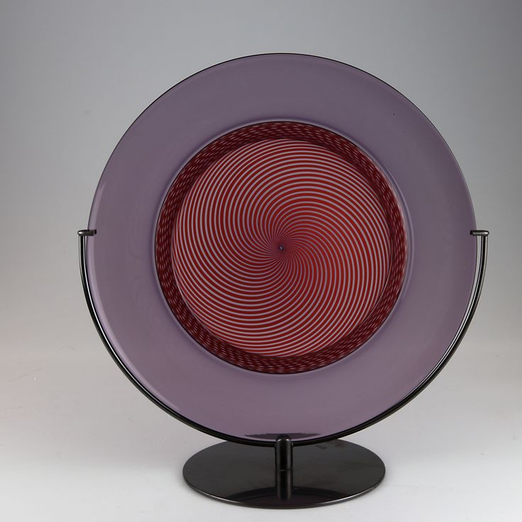 auction 113B - Tapio Wirkkala. Large 'Filigrana di Tapio' plate, 1970.
