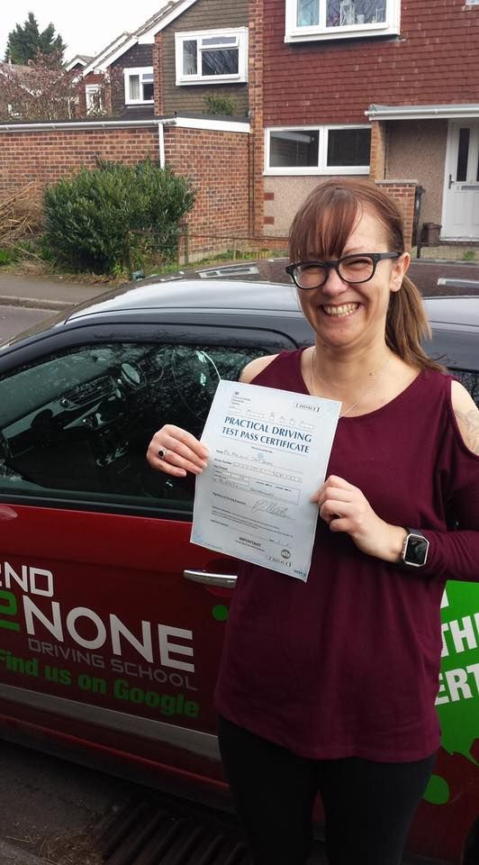 Congratulations to Mel Braby from Bristol who passed her driving test yesterday 14/03/17 in Southmead test centre with just 2 minor faults.  She's very chuffed :) She was unlucky not to pass first time when she got just one minor fault but one serious but she did it on the second attempt. Safe driving from your driving instructor Kevin Allen and all the team here at 2nd2None Driving School. https://www.2nd2nonedrivingschool.co.uk/driving-lessons-bristol.html