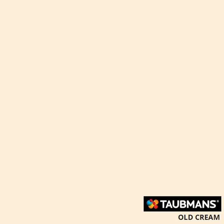 #Taubmanscolour #oldcream