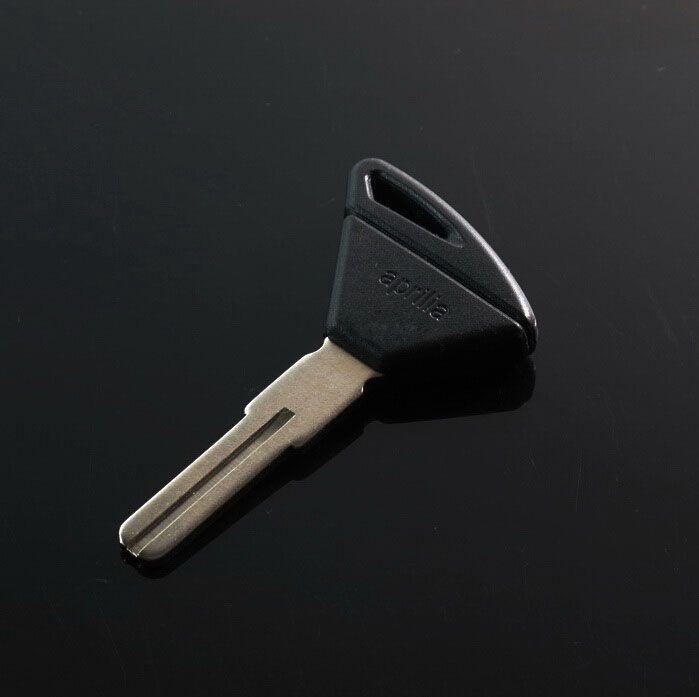 Motorbike Key Embryo Motorcycle Key Blank Transponder Key Blade For Aprilia RSV4 Tuono Dorsoduro 750 1200(Long Blade)