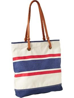 canvas toteBeach Totes, Nautical Stripes, Oldnavy Com, Beach Bags, Perfect Totes, Totes Bags, All Canvas, Stripes Canvas, Old Navy
