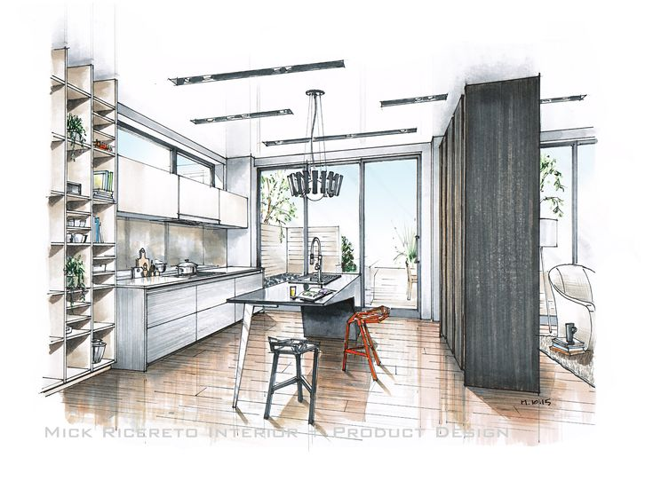 modern kitchen concept by mick ricereto