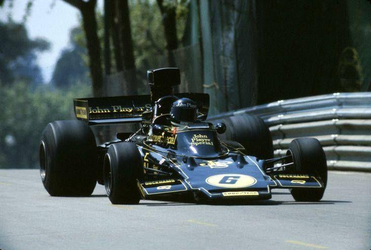 Jacky Ickx - Lotus - Montjuic, Spanish Grand Prix - 1975