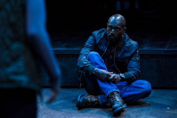 Corey Jones as Tate in the Utah Shakespeare Festival's 2017 production of How to Fight Loneliness. (Photo by Karl Hugh. Copyright Utah Shakespeare Festival 2017.)
