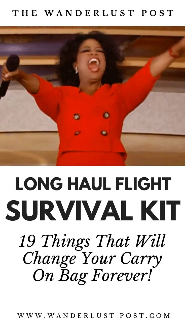 If you're a frequent traveller, or if you have a long haul flight coming up you'll love these light hearted but helpful tips for what you should be carrying in your hand luggage! Your Flight Survival Kit: 19 Things That Will Change Your Carry On Bag Forever…