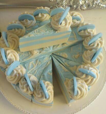 Angel Soap Cake Slice  Handmade Soap