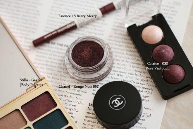 Ищем аналог в масс-маркете Chanel Rouge Noir (Chanel Illusion D'Ombre Long Wear Luminous Eyeshadow 857 Rouge Noir) — Ansejour Beauty Blog — Косметиста