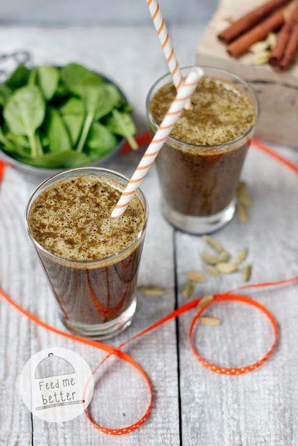 Śliwkowy, rozgrzewający i zdrowy smoothie!
