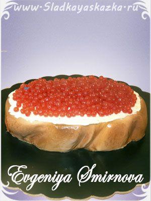 Торт Бутерброд с икрой