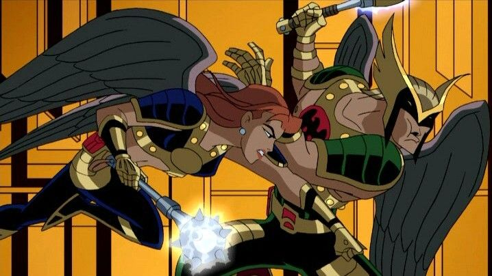 Shiara-Hawkgirl in Justice League Unlimited | Hawkman ...