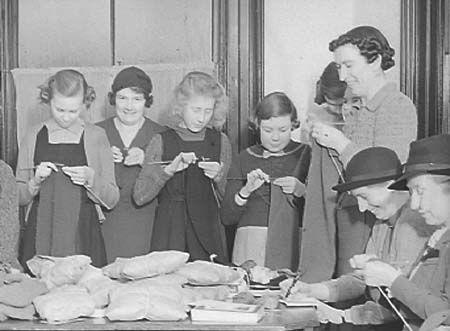 1940's knitting group
