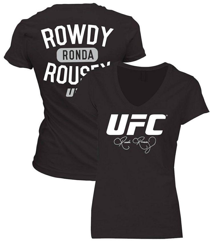 UFC Ronda Rousey UFC 168 Womens Walkout Shirt