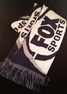 Fox Sports scarf. Australian sports channel.