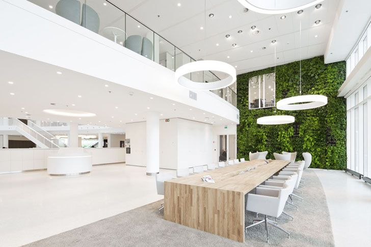 Dutch Energy Company Eneco's New Rotterdam Headquarters is a G...