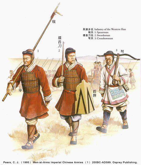 漢 軍服武器