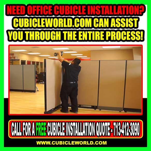 Cubicle World Offers Installation Moving Office Furniture Repair