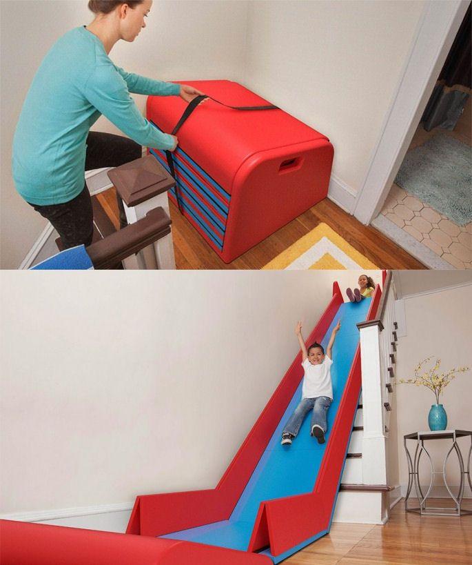 les 25 meilleures id es de la cat gorie escalier toboggan sur pinterest diapositives d. Black Bedroom Furniture Sets. Home Design Ideas