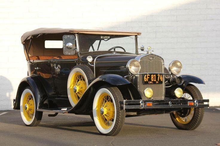 1931 Ford Model A Deluxe Phaeton for sale | Hemmings Motor News