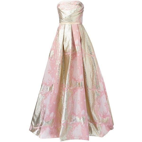 Marchesa Notte princess ball gown ($1,285) ❤ liked on Polyvore featuring dresses, gowns, marchesa, pink, notte by marchesa, pink evening dress, notte by marchesa gowns, pink dress and notte by marchesa dresses