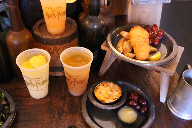 The Leaky Cauldron food