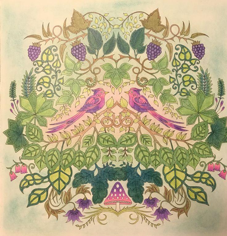 Johanna Basford - Enchanted Forest, WHSmith Pencils