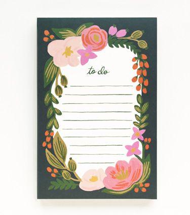 Rosalie Notepad