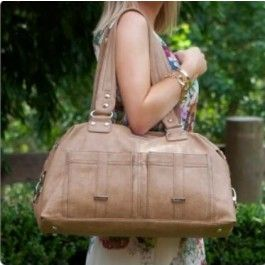 Baby nappy bags | Buy online and save Vanchi Florence Traveler in Caramel