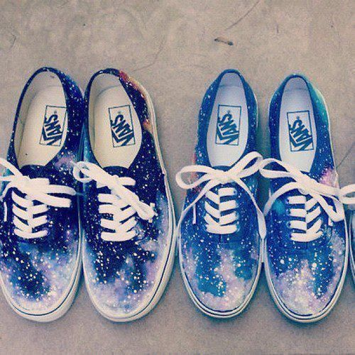 Galaxy Vans Shoes Tumblr On I Have Been Looking For
