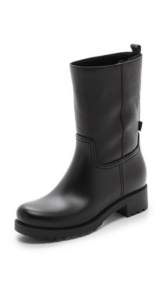 L.K. Bennett Warren Short Wellie Boots