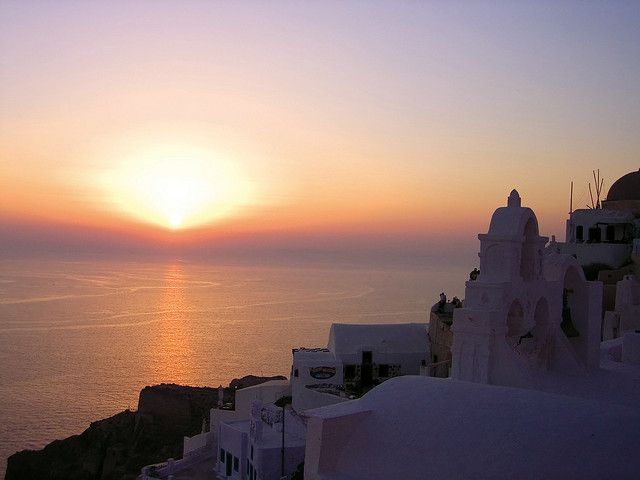 The most renown view in the world... #Santorini #sunset