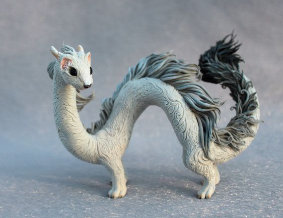 Ermine Eastern Dragon Spirit Elemental Fantasy par DemiurgusDreams