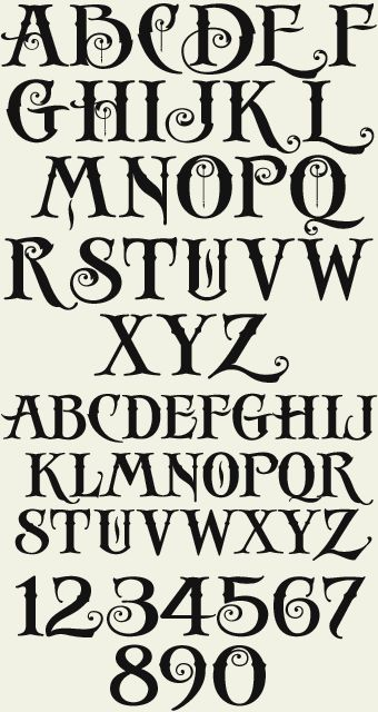 I love this font. Letterhead Fonts / LHF Antique Shop / Decorative Fonts