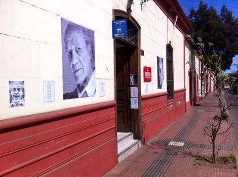 En La Serena también celebramos los 100 años del anti poeta Nicanor Parra. Así luce la biblioteca pública de la nuestra ciudad #NicanorParra100Años