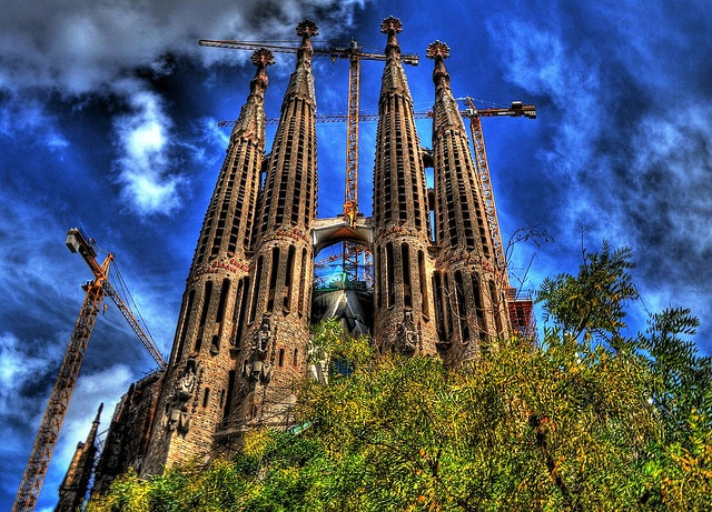 Sagrada Famillia in HDR!!!