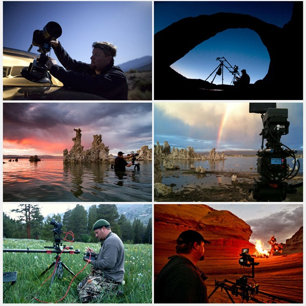 2 года Tom Lowe провёл в своём пикапе, снимая фильм о людях, ландшафты и дикую природу на Юго-Западе Америки. 250 ночей провёл под отрыктым небом, рядом со своей камерой, делая ночные таймлапсы. В 2011 году получил награду «лучший астрономический фотограф года».