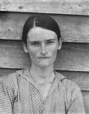 n 1936 Walker Evans photographed the Burroughs, a family of sharecroppers in Depression era Alabama. In 1979 in Sherrie Levine rephotographe...