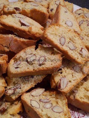 Biscotti cantucci toscani Kenwood