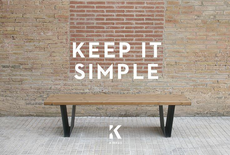 #keepitsimple #simplicity #streets #city Model: Levo Uwe #bench  #kirkus #kirkusinnova #design http://bit.ly/1TO2U9M