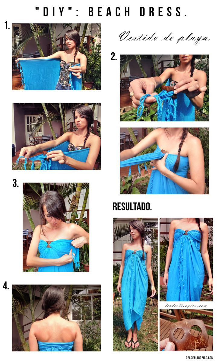 DIY: Beach dress -vestido de playa-