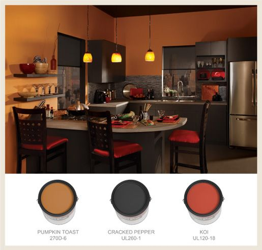 If You Are Looking For A Warm And Urban Vibe In The Kitchen Behr ColorsPaint
