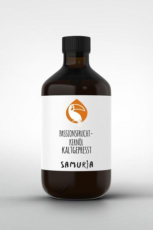 Passionsfruchtkernöl - Mit über 75% Linolsäure spendet das unbehandelte Öl von SAMURIA der Haut sehr lange und viel Feuchtigkeit. #Wirkstofföle #Passionsfruchtkernöl #kaltgepresst #Amazonas #Rohstoffe