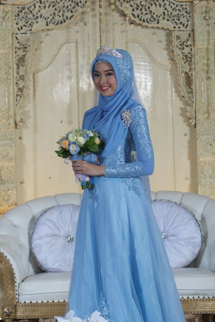 9 best Wedding Hijab images on Pinterest | Muslim brides, Bridal ...