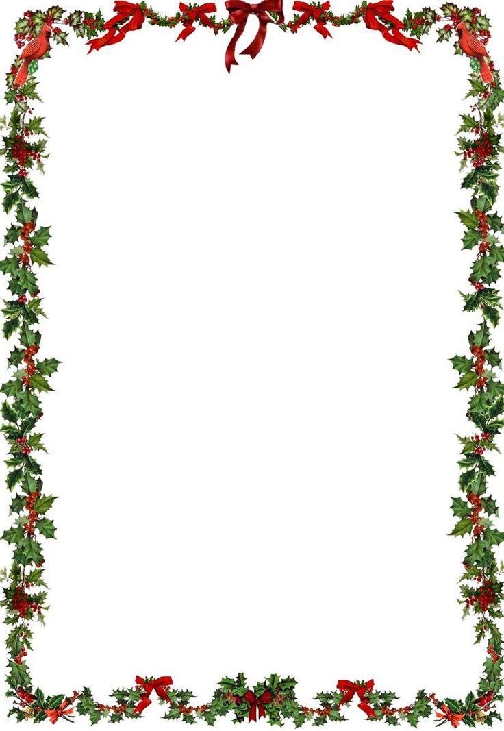 Printable Holiday newsletter border | frame | Pinterest | deviantART ...