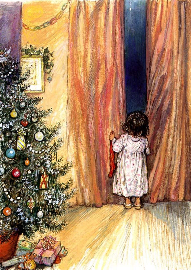 in so many words...: A Good Morning Christmas Picture. Artist: Shirley Hughes