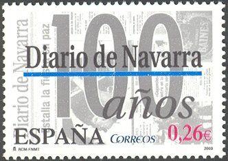 Centenario el diario de Navarra - 2003