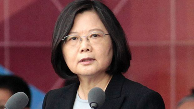 Twitter diplomacy: Trump trades words with friends and foes on social media. Taiwan's President Tsai Ing-wen.